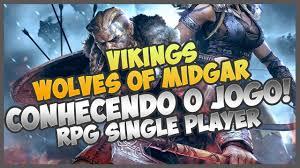 vikings wolves of midgar 1 primeiras impressões youtube