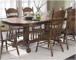 oak dining room set rustic oak dining room furniture home design gallery