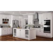 home depot kitchen wall cabinets with glass doors hton assembled 15x30x12 in wall kitchen cabinet in satin white