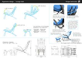 furniture terrific ergonomic design lounge chair adjust