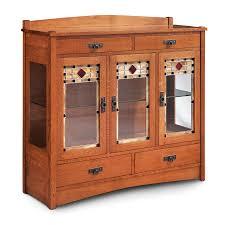 3 door display cabinet amish display cabinets rebelle home furniture store medford oregon