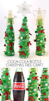 coca cola glass bottle christmas tree craft dream a little bigger