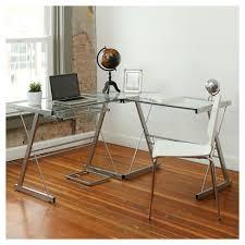 target home floor l l shaped glass corner computer desk saracina home target inside idea