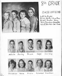 hobbs high school yearbook index of names a l for 1929 1952 bridgeport tx school yearbooks