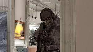 ghost modern warfare mask image ghost in mueseum mw2 png call of duty wiki fandom