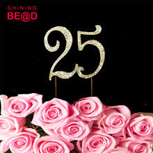 25 cake topper popular 25 birthday cake buy cheap 25 birthday cake lots from