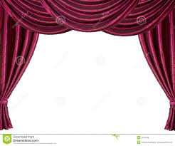 red stage curtain royalty free stock images image 2913709