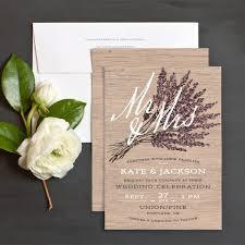 Rustic Wedding Invitation Lavender Wedding Invitations Marialonghi Com