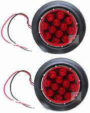 4 inch round led tail lights lighting tail lights unbranded rv trailer cer exterior parts