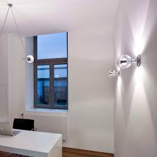 Contemporary Architecture Characteristics by Contemporary Wall Light Glass Aluminum Brass Divo