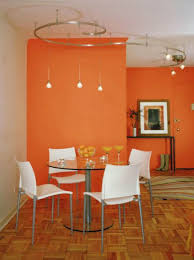 Warm Orange Color 80 Installation Examples With Positive Effects For Wall Colors