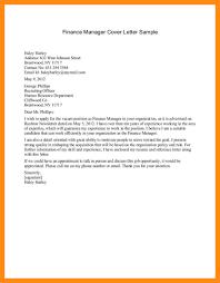 finance internship cover letter samples tourism manager cover