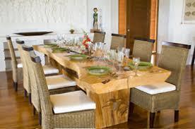 Balinese Dining Table Puri Goa Gong