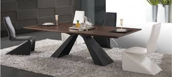 Table A Manger Industrielle Pas Cher by Charmant Table Salle A Manger Design Pied Central Avec Table Salle