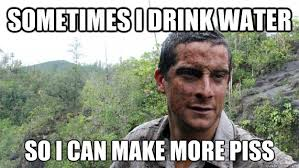 Man Vs Wild Meme - bear grylls biography everything you need to know