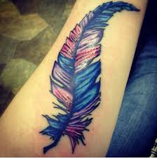 tattoo pictures color simple water color feather tattoo image golfian com