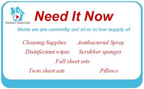 wish list donate volunteer family shelter columbia sc