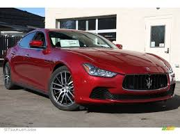 maserati ghibli red rosso energia red 2015 maserati ghibli s q4 exterior photo