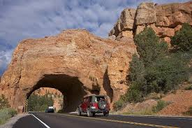 best scenic road trips in usa utah highway 12 scenic byway road arch near bryce by peter thody