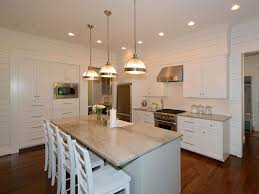 cottage kitchen with hardwood floors u0026 flat panel cabinets in
