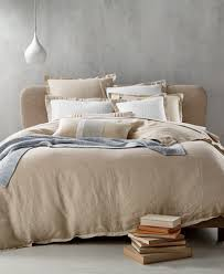 Linen Bed Frame Hotel Collection Linen Bedding Collection 100 Linen