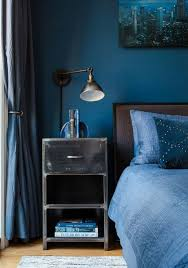 style chambre a coucher adulte chambre à coucher deco chambre a coucher bleu idée chambre à