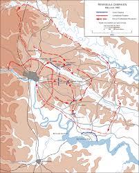 Map Of Richmond Va The Seven Days Battle Peninsula Campaign 1862 Map American Civil War