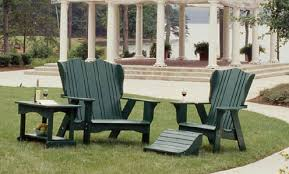Adirondack Bar Stools Eco Friendly Polymer Outdoor Adirondack Chair In The Plantation