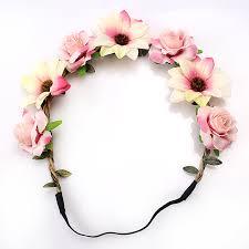 headband flowers aliexpress buy m mism 2017 new woman elactic wedding