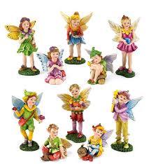 5 figurines set magic cabin