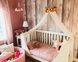 Cot Bed Canopy Cot Bed Canopy Etsy