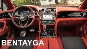 bentley cars interior 2017 bentley bentayga interior youtube