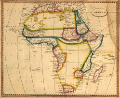 Maps Of Africa by Map Of Africa 1812