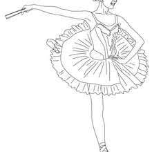 ballerina coloring pages drawing kids free games