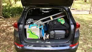 hyundai tucson trunk space hyundai tucson active 2017 review term carsguide