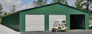Large Garage 32 40 50 And 60 Wide Metal Buildings Large Steel Building