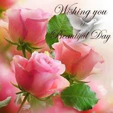 wishing you a beautiful day morning morning