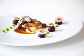 recette de cuisine de chef étoilé une recette étoilée de foie gras lifestyle levif weekend