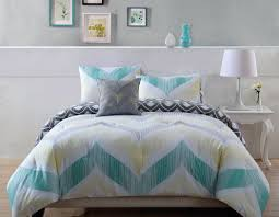 Turquoise Chevron Bedding Bedding Set Valuable Grey Yellow And Turquoise Bedding Eye