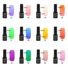 aliexpress com buy 1pcs light change uv nail gel polish 6ml