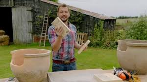 Building A Backyard Pizza Oven by Jimmy Demonstrates How To Build A Pizza Oven Using Plant Pots