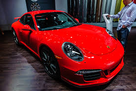 red porsche 911 2013 porsche cayman unveiling and another porsches in la auto swow