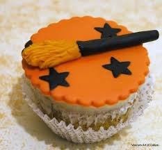 Pics Of Halloween Cakes by Fondant Witch Broom Cupcake Toppers Halloween Cupcake Tutorials