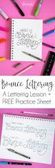 Constellations Worksheets How To Do Bounce Lettering Dawn Nicole Designs