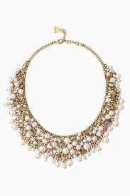 bib necklace gold images Sparkly pearl bib statement necklace stella dot stella dot jpg