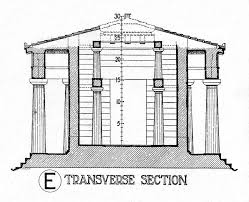 historic illustrations of art and architecture temple of aphaia