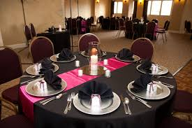 our pink u0026 black table setting party scene ideas pinterest