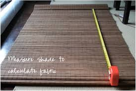 Bamboo Shades Blinds Diy Friday Easy Greek Key Roman Shade Using Bamboo Blinds Diy