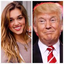 sadie robertson love her hair sadie robertson urges millennials to pray for donald trump let s
