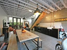 Rustic Black Kitchen Cabinets by Amazing Rustic Industrial Kitchen Featuring White Kitchen Cabinets